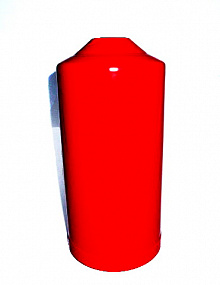 Case for fire extinguisher (PS-2)
